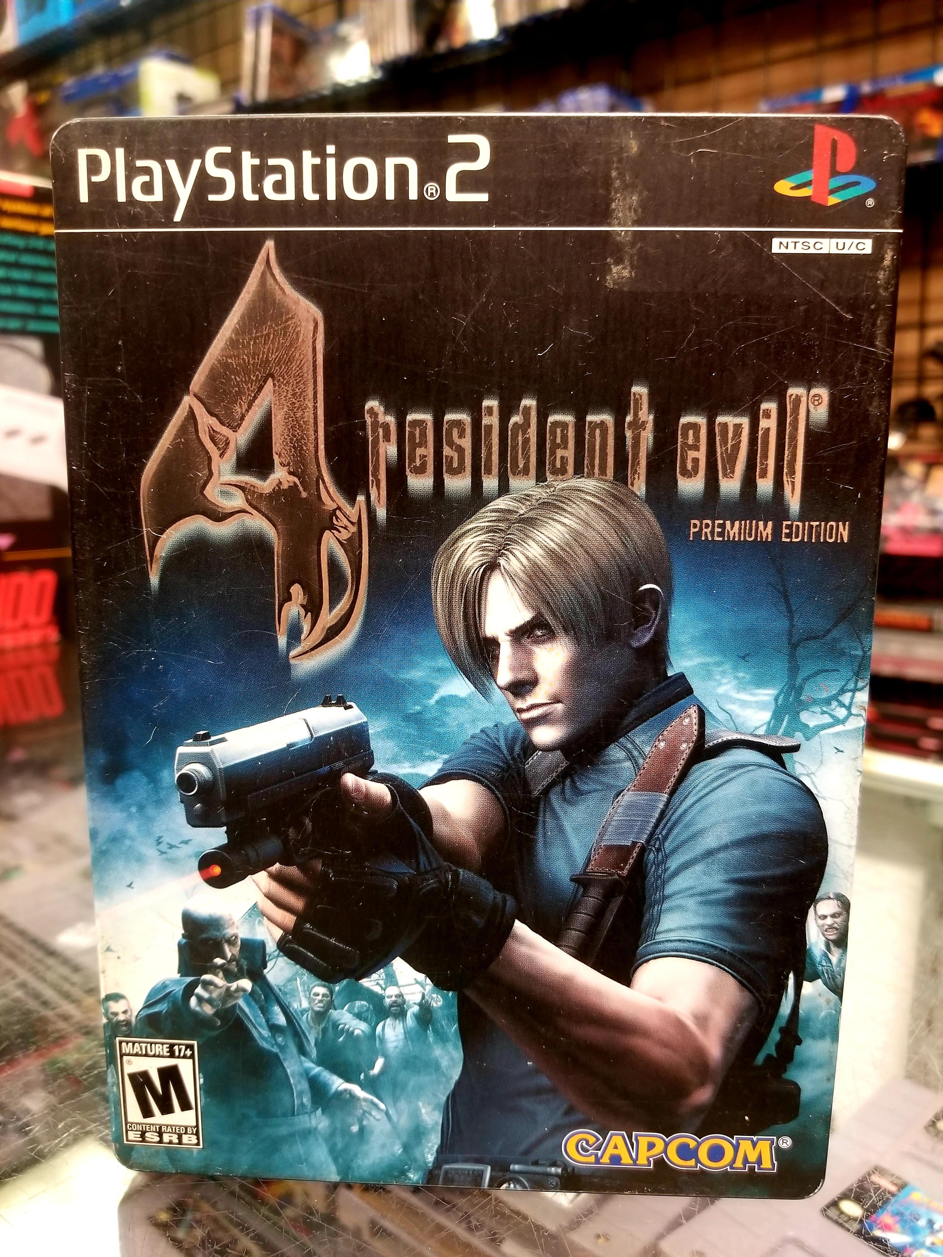 Ps2 Games Resident Evil 4 Premium Edition Steelbook Movie Galore