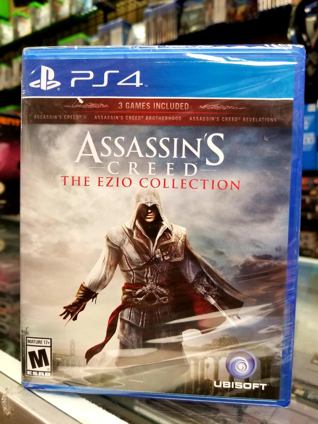 Ps4 Assassin S Creed Ezio Trilogy Movie Galore