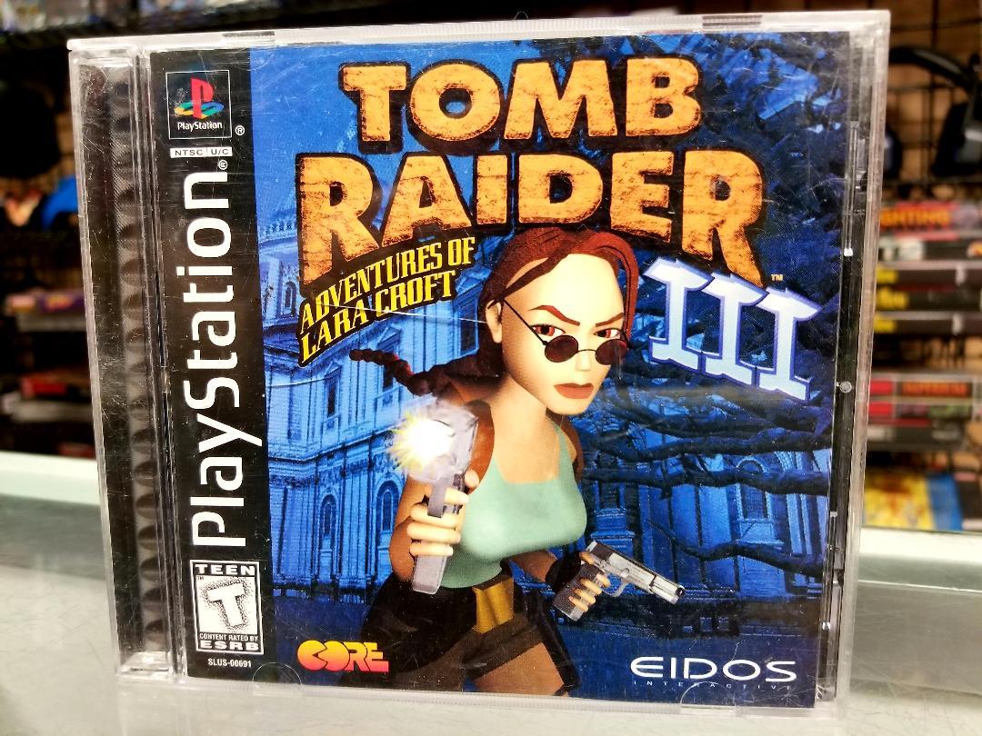 Ps1 Tomb Raider 3 Adventures Of Lara Croft Movie Galore
