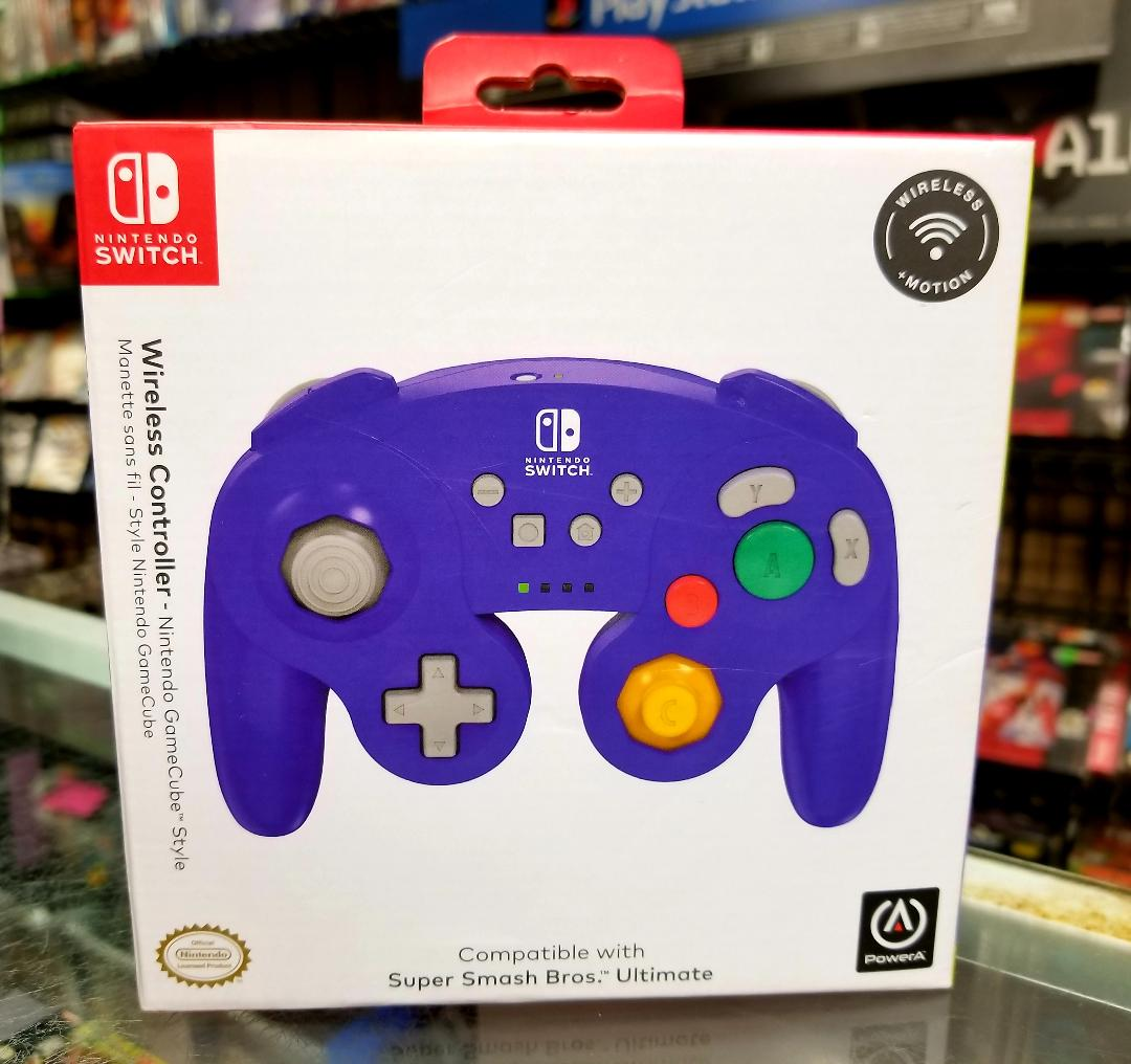 wireless gamecube controller switch
